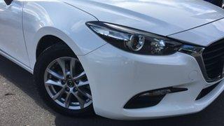 2016 Mazda 3 BM5278 Neo SKYACTIV-Drive White 6 Speed Sports Automatic Sedan.