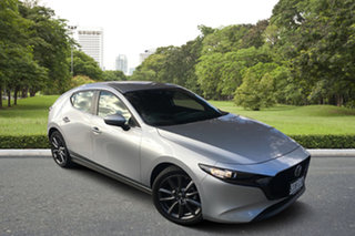 2021 Mazda 3 BP2H7A G20 SKYACTIV-Drive Evolve Sonic Silver 6 Speed Sports Automatic Hatchback.
