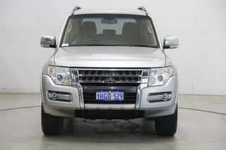 2018 Mitsubishi Pajero NX MY18 GLX Silver 5 Speed Sports Automatic Wagon.