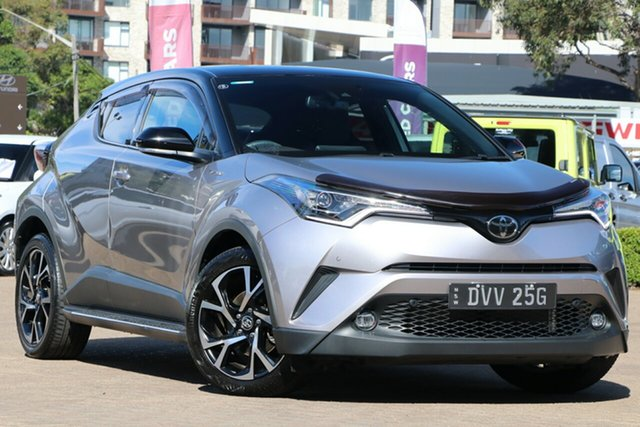 Used Toyota C-HR NGX50R Rosebery, 2018 Toyota C-HR NGX50R Koba Silver Continuous Variable Wagon