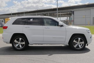 2015 Jeep Grand Cherokee WK MY15 Overland (4x4) White 8 Speed Automatic Wagon