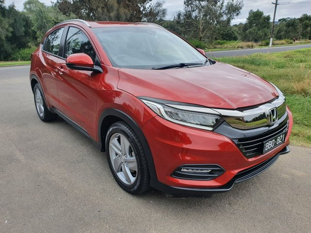 Used Honda HR-V VTi-S Geelong, 2019 Honda HR-V (No Series) VTi-S Red Constant Variable Hatchback