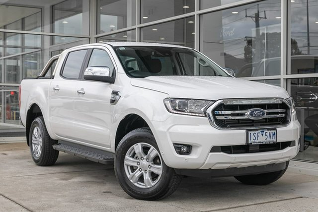 Used Ford Ranger PX MkIII 2020.75MY XLT Hi-Rider Ferntree Gully, 2020 Ford Ranger PX MkIII 2020.75MY XLT Hi-Rider White 6 Speed Sports Automatic Double Cab Pick Up