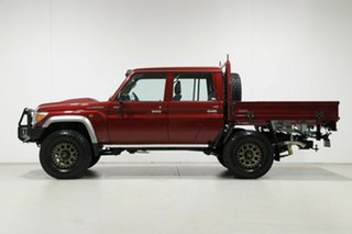 2020 Toyota Landcruiser VDJ79R GXL (4x4) Red 5 Speed Manual Double Cab Chassis