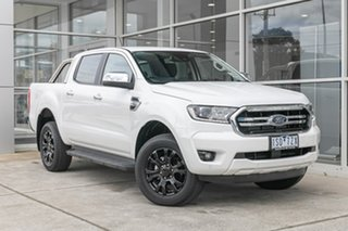 2020 Ford Ranger PX MkIII 2020.75MY XLT Hi-Rider White 10 Speed Sports Automatic Double Cab Pick Up.