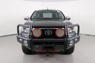 2018 Toyota Hilux GUN126R MY19 SR5 (4x4) Grey 6 Speed Automatic X Cab Pickup.