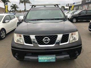 2009 Nissan Navara D40 ST-X (4x4) 6 Speed Manual Dual Cab Pick-up.