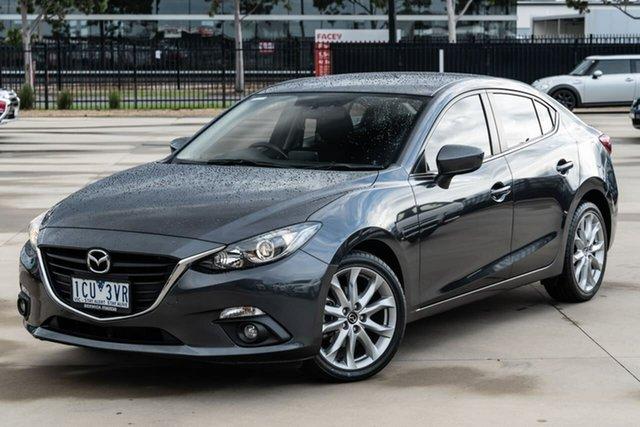 Used Mazda 3 BM5438 SP25 SKYACTIV-Drive Narre Warren, 2014 Mazda 3 BM5438 SP25 SKYACTIV-Drive Grey 6 Speed Sports Automatic Hatchback