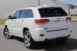 2015 Jeep Grand Cherokee WK MY15 Overland (4x4) White 8 Speed Automatic Wagon.