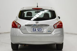 2016 Nissan Pulsar C12 Series 2 ST Silver 1 Speed Constant Variable Hatchback