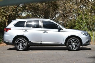 2016 Mitsubishi Outlander ZK MY17 LS 4WD Safety Pack Silver 6 Speed Constant Variable Wagon
