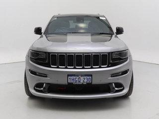 2014 Jeep Grand Cherokee WK MY14 SRT 8 (4x4) Silver 8 Speed Automatic Wagon.