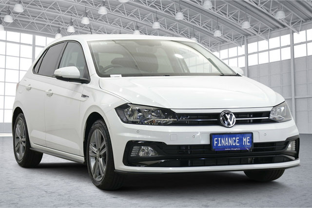Used Volkswagen Polo AW MY19 85TSI DSG Comfortline Victoria Park, 2019 Volkswagen Polo AW MY19 85TSI DSG Comfortline Pure White 7 Speed Sports Automatic Dual Clutch