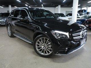 2017 Mercedes-Benz GLC-Class X253 808MY GLC250 d 9G-Tronic 4MATIC Black 9 Speed Sports Automatic.