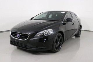 2016 Volvo V40 M MY16 T3 Kinetic Black 6 Speed Automatic Hatchback.