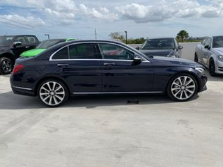 2015 Mercedes-Benz C-Class W205 C250 7G-Tronic + Blue 7 Speed Sports Automatic Sedan.