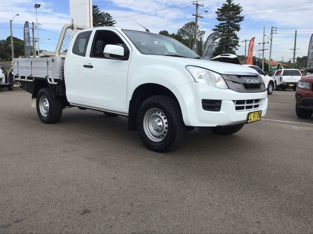 Used Isuzu D-MAX MY15.5 SX Space Cab Cardiff, 2016 Isuzu D-MAX MY15.5 SX Space Cab White 5 Speed Sports Automatic Cab Chassis