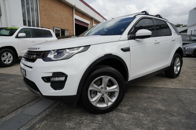Used Land Rover Discovery Sport L550 15MY SE Narrabeen, 2015 Land Rover Discovery Sport L550 15MY SE White 9 Speed Sports Automatic Wagon