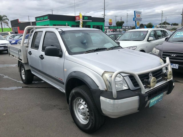 Used Holden Rodeo RA LX (4x4) Cheltenham, 2005 Holden Rodeo RA LX (4x4) 5 Speed Manual Cab Chassis