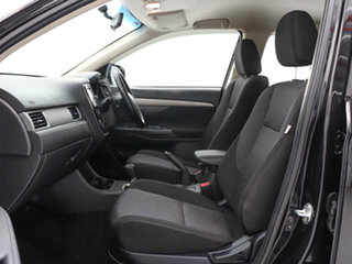 2013 Mitsubishi Outlander ZJ MY14 ES (4x4) Black Continuous Variable Wagon
