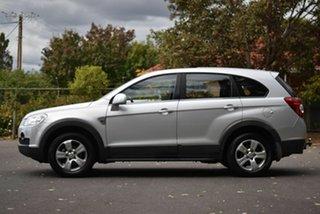 2010 Holden Captiva CG MY10 SX AWD Silver 5 Speed Sports Automatic Wagon