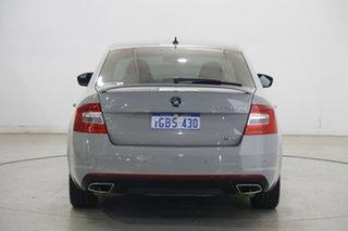 2015 Skoda Octavia NE MY16 RS Sedan DSG 162TSI Grey 6 Speed Sports Automatic Dual Clutch Liftback