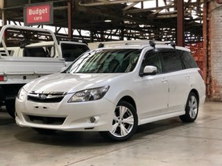 2012 Subaru Liberty B5 MY12 Exiga Lineartronic AWD Premium White 6 Speed Constant Variable Wagon.