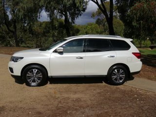2017 Nissan Pathfinder R52 Series II MY17 ST X-tronic 4WD White 1 Speed Constant Variable Wagon