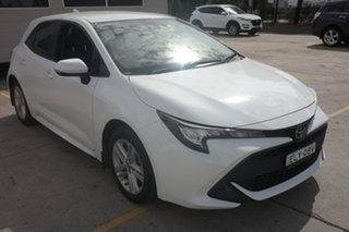 2018 Toyota Corolla Mzea12R Ascent Sport i-MT White 6 Speed Manual Hatchback