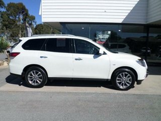 2016 Nissan Pathfinder R52 MY15 ST (4x2) White Continuous Variable Wagon