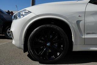2015 BMW X5 F15 MY15 xDrive30d Mineral White 8 Speed Automatic Wagon.