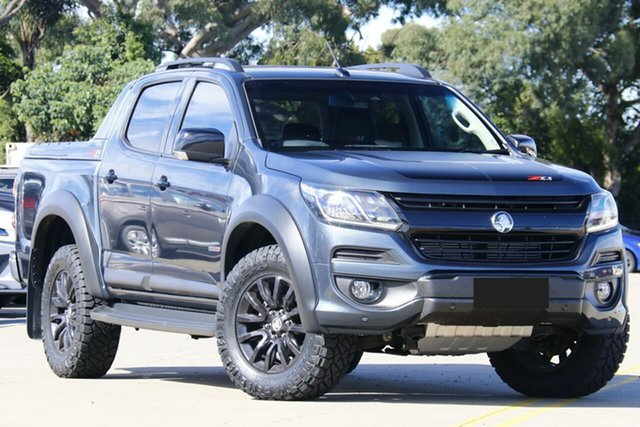 Used Holden Colorado RG MY20 Z71 Pickup Crew Cab Chullora, 2019 Holden Colorado RG MY20 Z71 Pickup Crew Cab Storm Grey 6 Speed Sports Automatic Utility