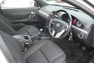 2008 Holden Commodore VE MY09 SV6 Silver 6 Speed Manual Sedan