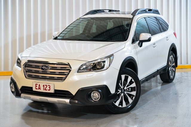 Used Subaru Outback B6A MY15 2.5i CVT AWD Premium Hendra, 2015 Subaru Outback B6A MY15 2.5i CVT AWD Premium White 6 Speed Constant Variable Wagon