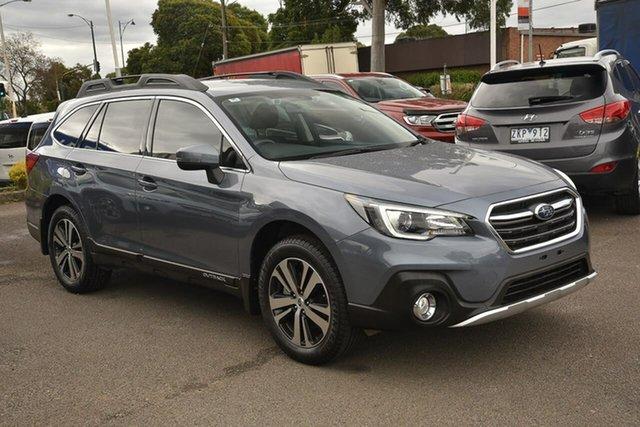 Used Subaru Outback B6A MY18 2.5i CVT AWD Nunawading, 2018 Subaru Outback B6A MY18 2.5i CVT AWD Grey 7 Speed Constant Variable Wagon