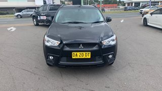 2012 Mitsubishi ASX XA MY12 2WD Black 5 Speed Manual Wagon.