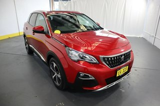 2018 Peugeot 3008 P84 MY18 Allure SUV Red/Black 6 Speed Sports Automatic Hatchback.
