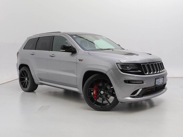 Used Jeep Grand Cherokee WK MY14 SRT 8 (4x4), 2014 Jeep Grand Cherokee WK MY14 SRT 8 (4x4) Silver 8 Speed Automatic Wagon