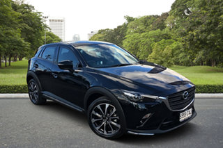 2019 Mazda CX-3 DK4W7A sTouring SKYACTIV-Drive i-ACTIV AWD Black 6 Speed Sports Automatic Wagon.