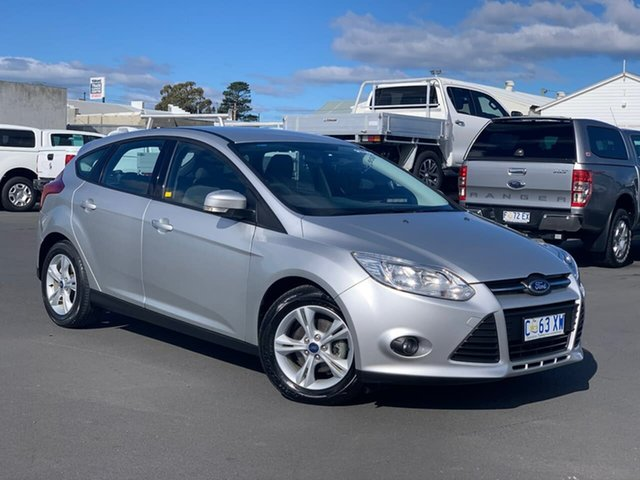 Used Ford Focus LW MkII Trend Moonah, 2012 Ford Focus LW MkII Trend Silver 5 Speed Manual Hatchback