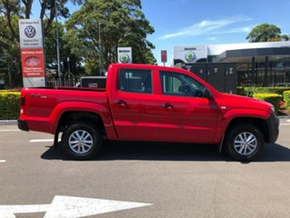 2020 Volkswagen Amarok 2H MY20 TDI420 4MOTION Perm Core Red 8 Speed Automatic Utility.