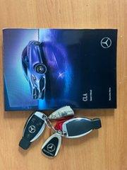 2018 Mercedes-Benz CLA-Class C117 808+058MY CLA250 DCT 4MATIC Sport White 7 Speed