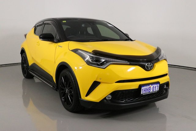 Used Toyota C-HR NGX50R Update Koba (AWD) Bentley, 2018 Toyota C-HR NGX50R Update Koba (AWD) Yellow Continuous Variable Wagon
