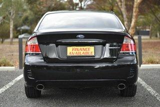 2008 Subaru Liberty B4 MY08 AWD Black 4 Speed Sports Automatic Sedan