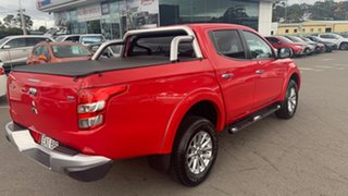 2015 Mitsubishi Triton MQ MY16 GLS Double Cab Red 6 Speed Manual Utility.