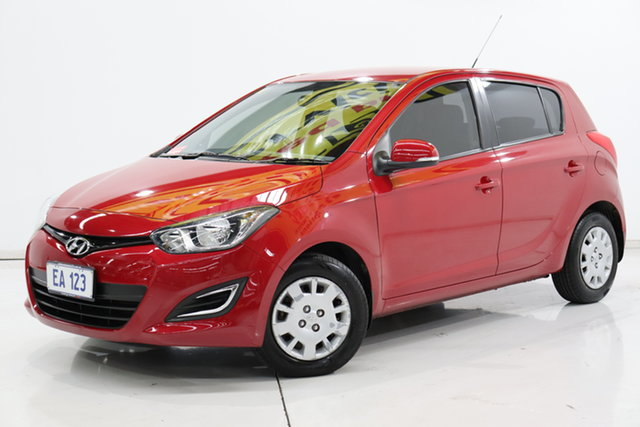 Used Hyundai i20 PB MY15 Active Brooklyn, 2015 Hyundai i20 PB MY15 Active Red 4 Speed Automatic Hatchback