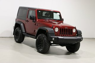 2011 Jeep Wrangler JK MY11 Sport (4x4) Burgundy 6 Speed Manual Softtop