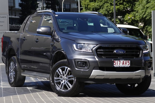 Used Ford Ranger PX MkIII 2020.25MY Wildtrak Newstead, 2020 Ford Ranger PX MkIII 2020.25MY Wildtrak Grey 10 Speed Sports Automatic Double Cab Pick Up