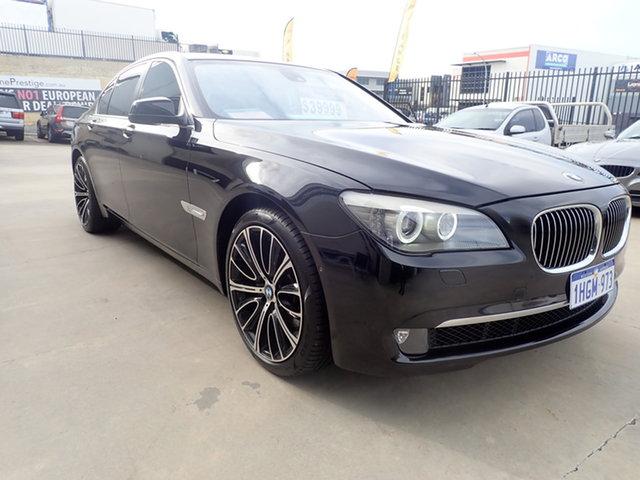 Used BMW 740i F01 MY11 Wangara, 2011 BMW 740i F01 MY11 Black Magic 6 Speed Auto Steptronic Sedan