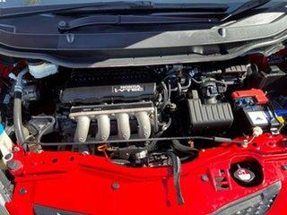 2010 Honda Jazz GE MY10 GLi Red 5 Speed Automatic Hatchback